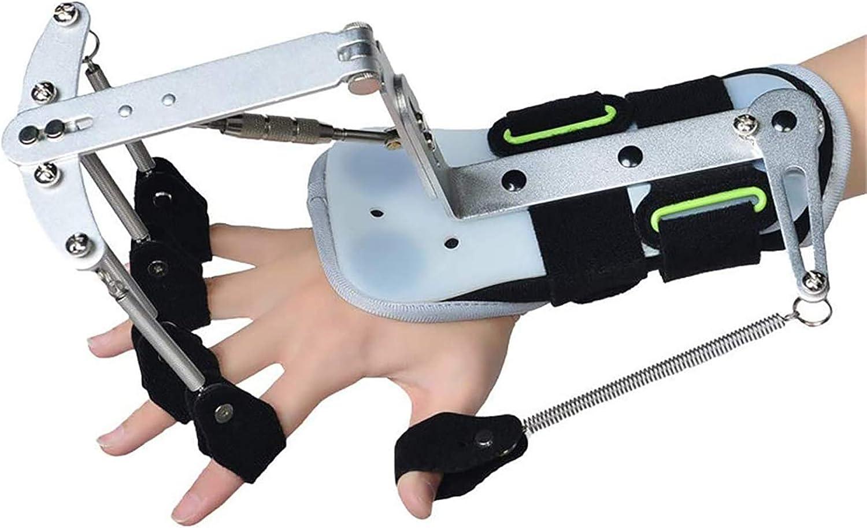 jjff Ortesis de rehabilitación de Dedos, ejercitador ortopédico de muñeca Ajustable, para hemiplejía por derrame Cerebral, reparación de Ejercicios de anhelo del Paciente