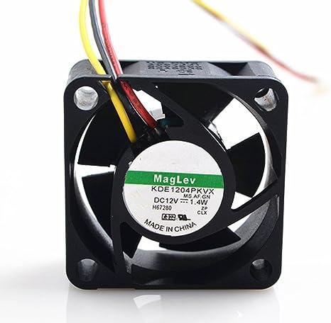 Nuevo ventilador de CPU 40 x 40 x 20 mm 3 pines KDE1204PKVX 12 V 1 ...