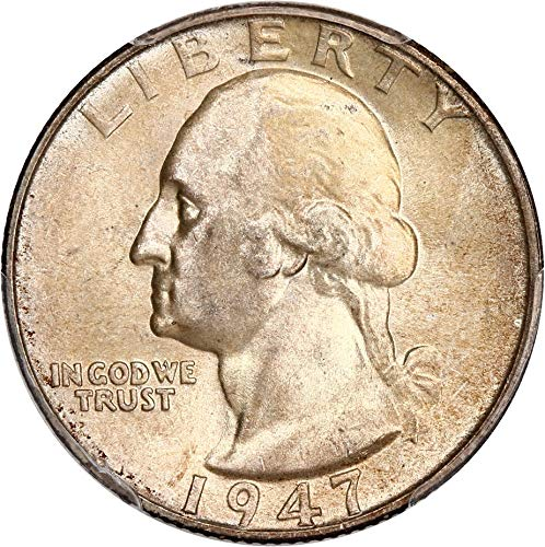 1947 P Washington Quarters (1932-98) Quarter MS66 PCGS