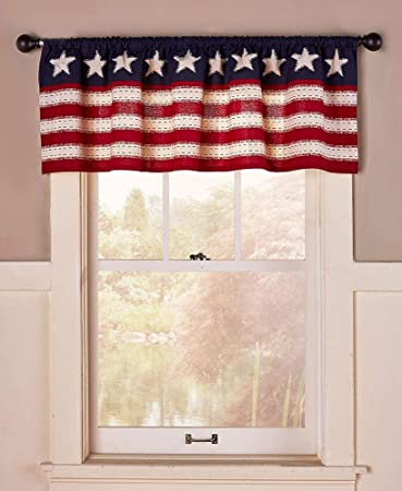 Star Spangled Americana Home Décor Window Valance