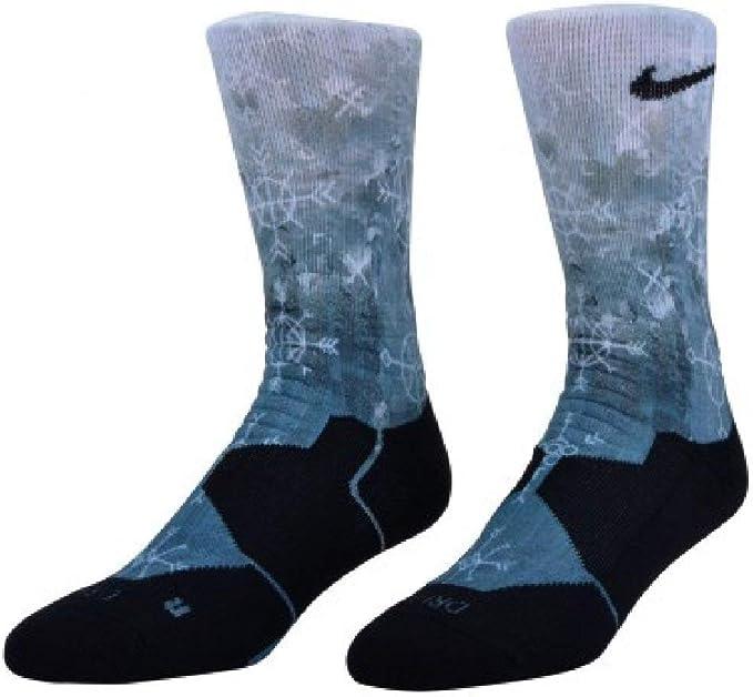 : Nike Elite Digital Ink Basketball Crew Socks