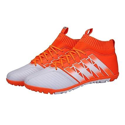 Moliies Zapatillas de fútbol Nail Rota Antideslizante Botas de fútbol Entrenamiento Deportivo Zapatillas de Deporte