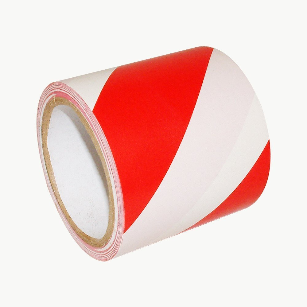 posts floors WINGONEER Red and White Hazard Warning Safety Stripe Tape Ideal For walls Width 10cm long 36 yards WINGONEER® shelfs pipes and other areas that need caution