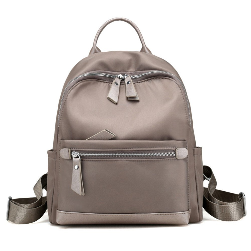 Hynbase Women& Girls Fashion Cute Mini Travel Nylon Rucksack Backpack Shoulder Bag Grey