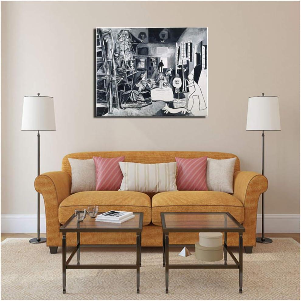 nr Pablo Picasso y Las Meninas, Arte de la Pared, Lienzo, Pintura, póster, Impresiones, Imagen de la Pared, Sala de Estar, decoración del hogar, 50x70 cm sin Marco