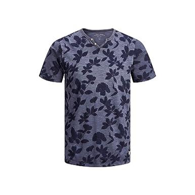 JACK JONES PREMIUM - Camiseta de Manga Corta Hombre Color: Blau ...