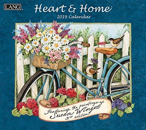 The LANG Companies Heart & Home 2019 Wall Calendar ()