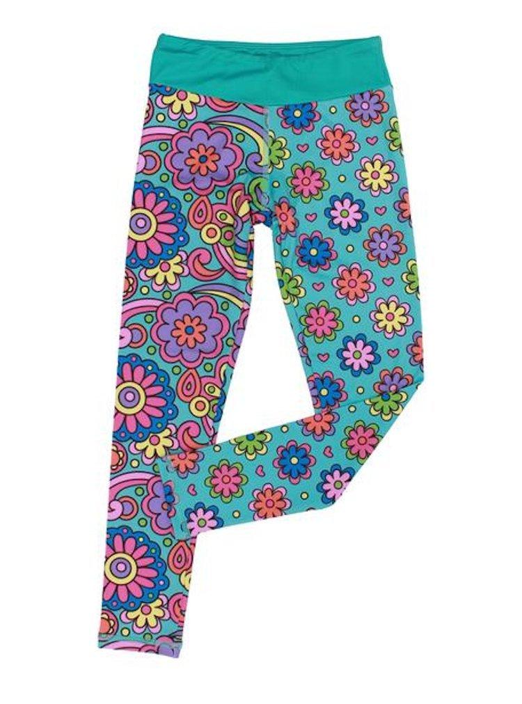 CHOOZE Girls Sporty Capri Length Leggings In Sizes 5 To 16.