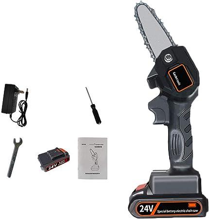 4inch, Black One-Hand 0.7kg Lightweight Mini Chainsaw 4-Inch ...