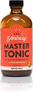 The Yerbary Master Tonic/Fire Cider - Original - 8 oz. - 16 Servings Per Bottle