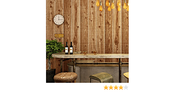 Etiqueta de arte interior etiqueta de puerta de casa estilo chino imitación vintage piso de madera textura de madera papel tapiz