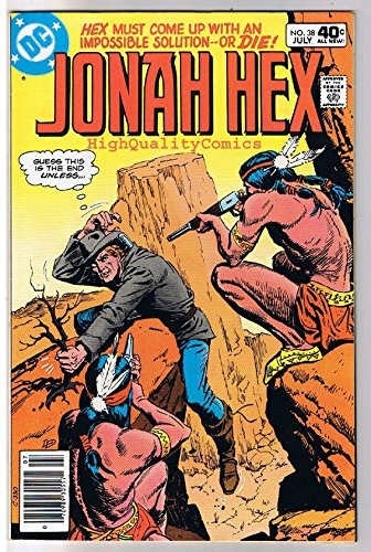 JONAH HEX #38, VF, Iron Dog's Gold, Scar, 1977, Western, more JH in store ()