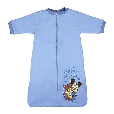 Para Bebés y Niños de verano de saco de dormir manga larga de algodón, sin