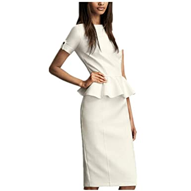 584dc25e549 European Short-Sleeved Professional Dress Suit Explosion-Selling high-end  Popular Ruffled Women s