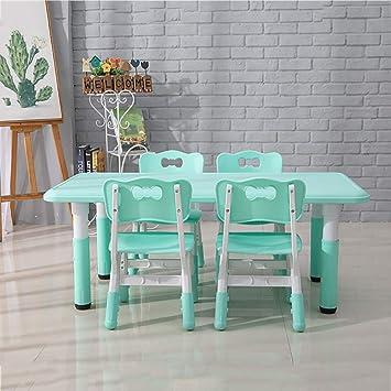 CTC mesa de estudio y juego de sillas, mesa de comedor casa ...