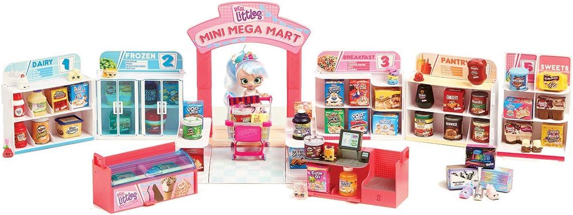Shopkins HPKG0000 Flair Real Littles Mini Packs Pop up Shop Playset, Multicolour