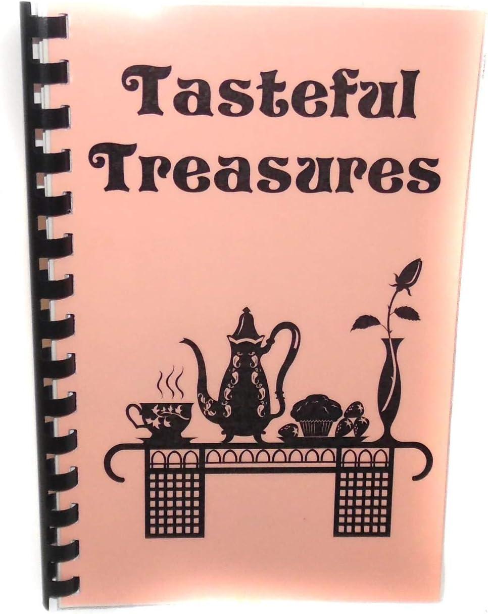 Tasteful Treasures Vintage Cookbook Recipes by Ladies of First Baptist Church - DuBois, PA