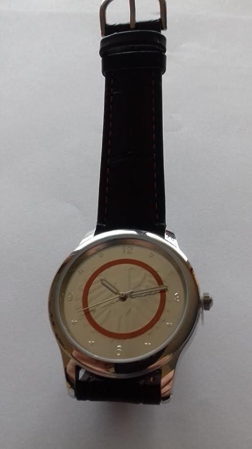 Subtropische Zone Leder Armbanduhr Passendem Design 5 Euro Münze