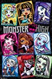 "Trends International Monster High Grid Wall Poster 22.375"" x 34"""