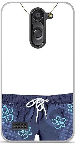Carcasa TPU Gel Flexible LG L Bello Design Mon Phone en ...