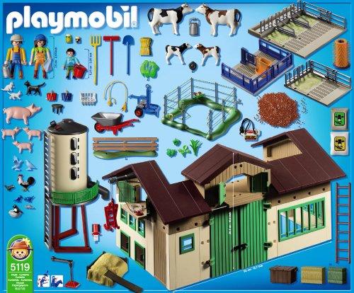 Playmobil 5119 Neuer Bauernhof Mit Silo Amazonde Spielzeug