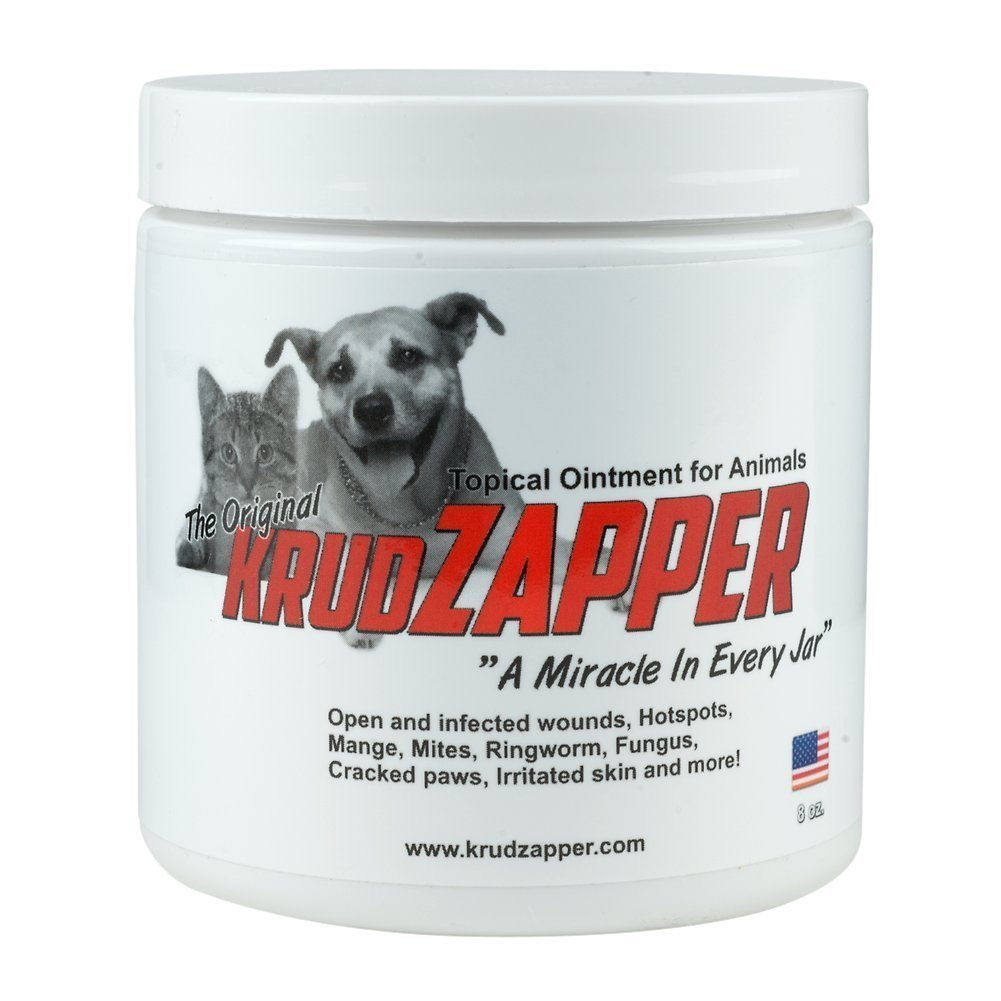 1 Pack Krudzapper Topical Ointment for Animals (8 Ounces)