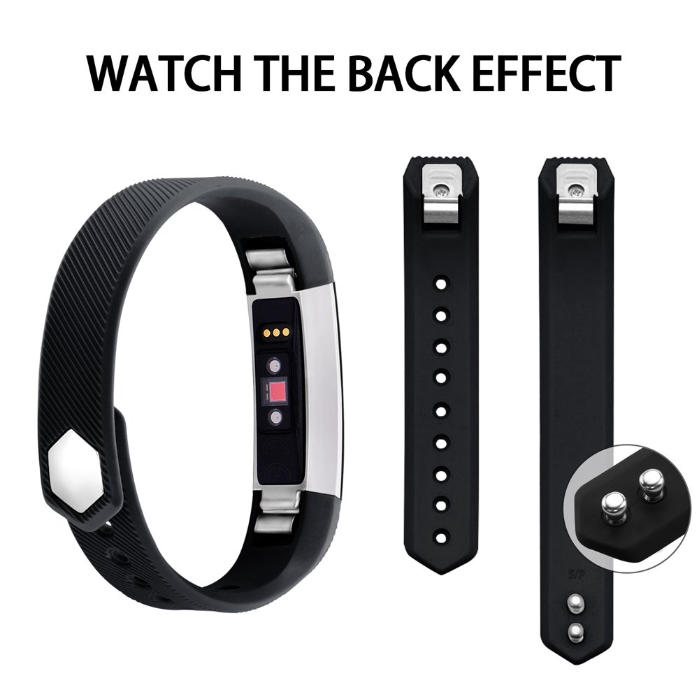 Newest Adjustable Sport Strap Smartwatch Fitness Wristbands iGK Replacement Bands Compatible for Fitbit Alta and Fitbit Alta HR