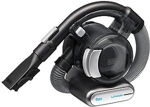 BLACK+DECKER 20V Max Flex Handheld Vacuum with Pet Hair Brush, Cordless, Grey (BDH2020FL)