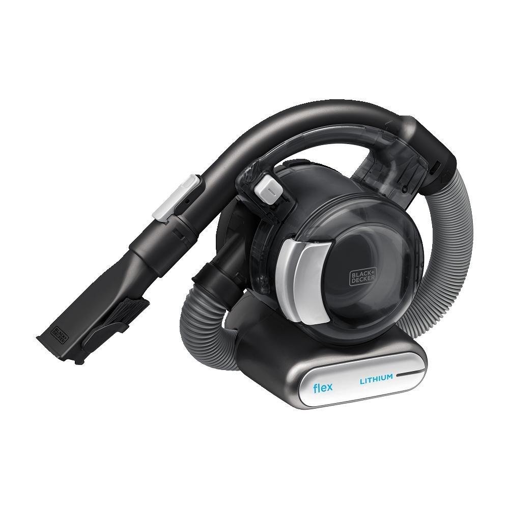 BLACK+DECKER 20V MAX Flex Handheld Vacuum with Pet Hair Brush, Cordless, Grey (BDH2020FL) by BLACK+DECKER
