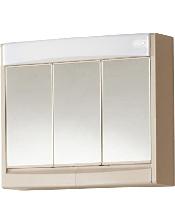 Armoires de salle de bain avec miroir | Amazon.fr