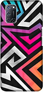Case Box Silicone Back Cover With Multi Color Printing for oppo A52 , 2725619144676