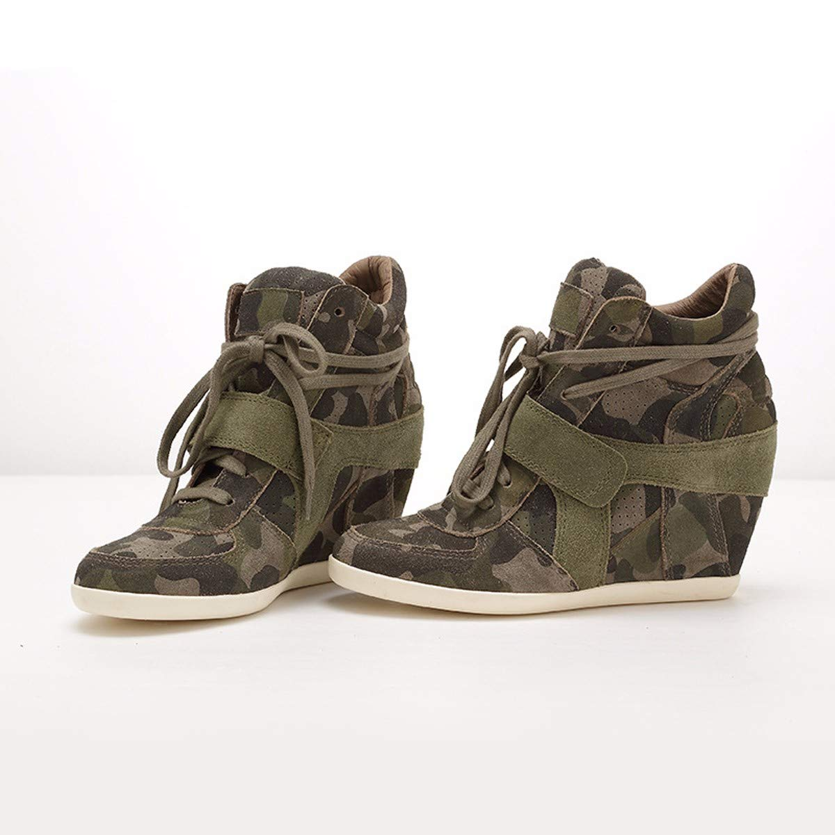 HBDLH Tarnung Damenschuhe Damenschuhe Herbst und Winter Tarnung HBDLH Printed Leder Schuhe Casual Schuhen Bequeme Schuhe. 0b23ee