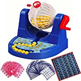 HITSAN Mini Bingo Lottery Rotary Game Pocket Machine For Kids Families Fun Puzzle Desktop Party Toys One Piece