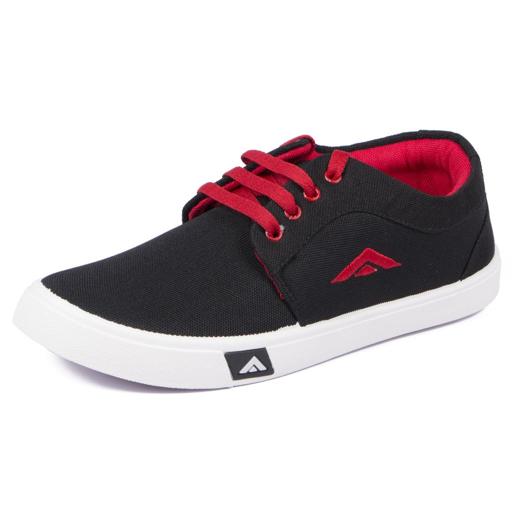 Buy Asian shoes Trailer Black Red Men
