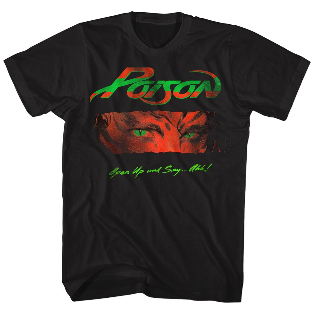 Poison Open Up And Say Ahh Adult Tshirt