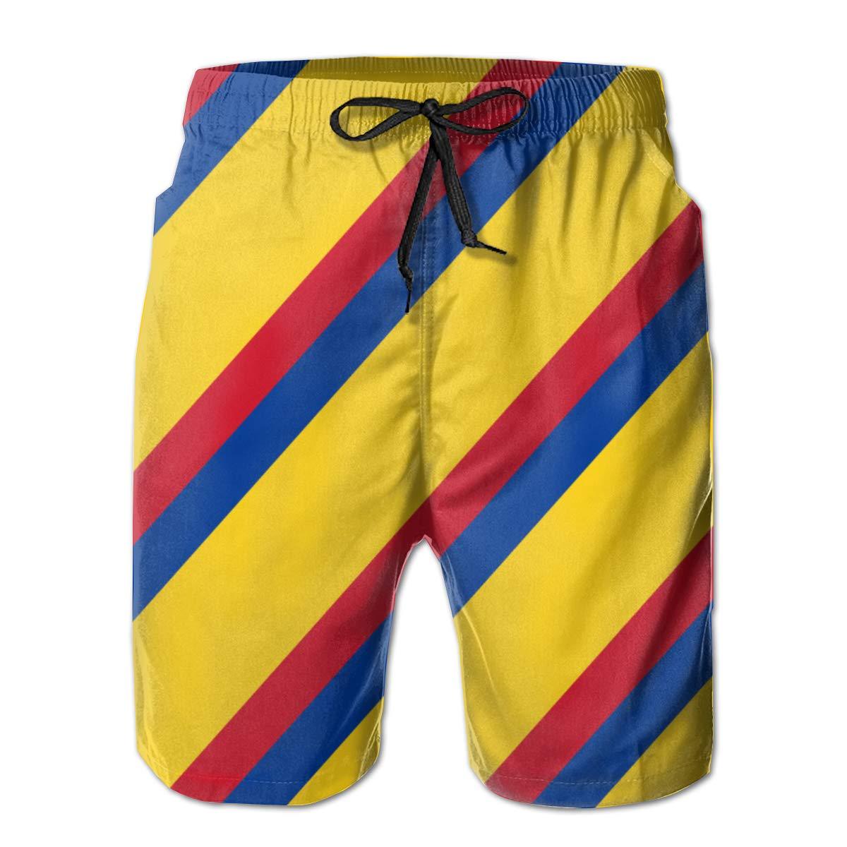 YongColer Summer Gift Men Swim Trunks Quick Dry Beach Surfing Running Board Shorts