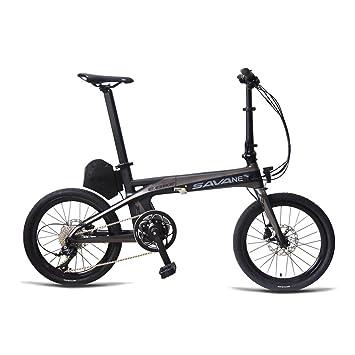 Savane E8 bicicleta eléctrica carbonra hmen 20 plegable E-Bike 36 V/250