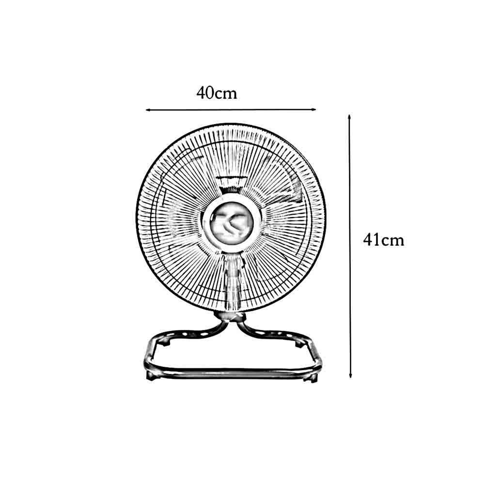 Sunny Electric Table Fan 3 Speed Oscillating Home Wire Diagram Industrial Desktop 12 20 Kitchen