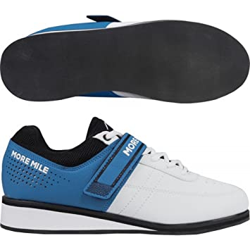 8b2844e2a8c2 More Mile More Lift 4 Mens Womens Weight Lifting   Cross Fit Shoes - White
