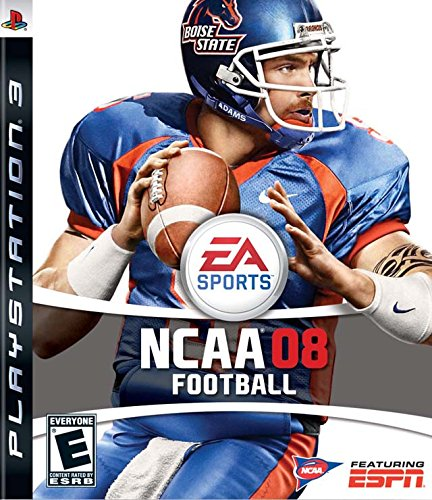 NCAA Football 08 - Playstation 3 (360 2008 Xbox Games)