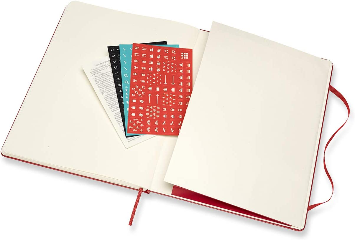 A5 13x21 cm Moleskine Wochennotizbuch Format