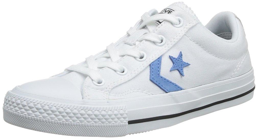 Converse Sp Core Canv Ox 289161-52-10 Unisex - Erwachsene Sneaker  36 EU|Wei? (Blanc/Bleu)