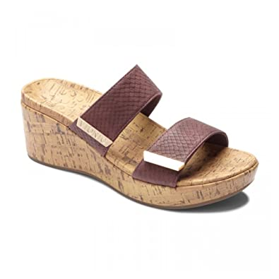 412ce59948d6 Vionic Women s Atlantic Pepper Wedge Sandals Black  Amazon.co.uk ...