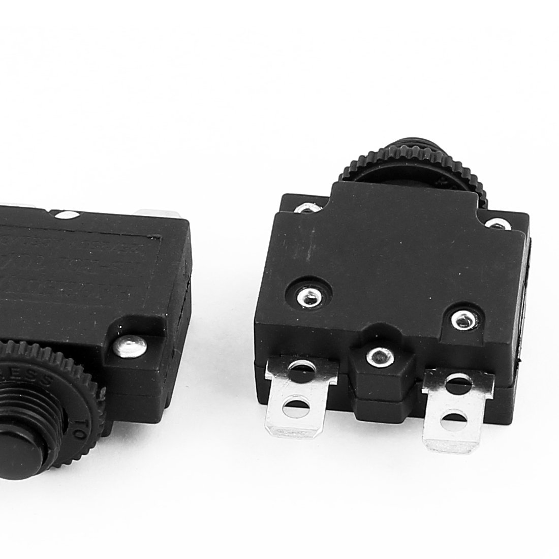 SOURCING MAP sourcingmap/® AC125V//250V 10A HS-R01 Interruptor autom/ático del compresor de aire en el circuito de protecci/ón de sobrecarga 7 pcs