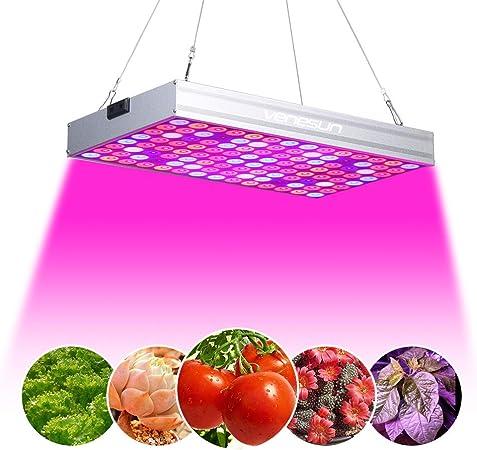 Amazon Com 150w Led Grow Light Venesun Upgraded Full