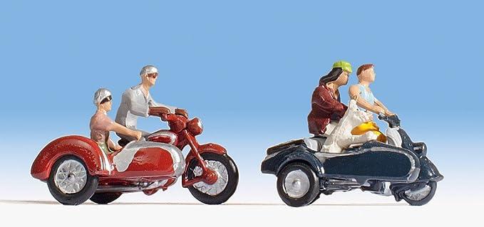 Noch - 45905 - Modélisme Ferroviaire - Figurine - Motocyclistes