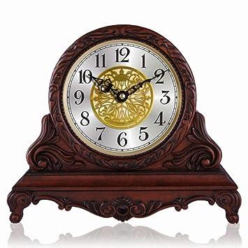 ^Relojes de mesa Relojes de mesa para la sala de estar Decoración Dormitorio Reloj de