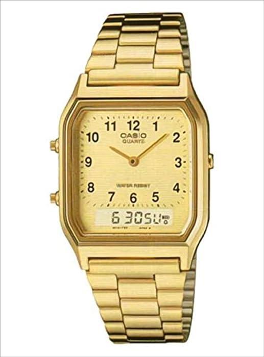 [Casio] Casio reloj Digital analógico aq230ga-9b Hombres de ultramar modelo Reverse las importaciones