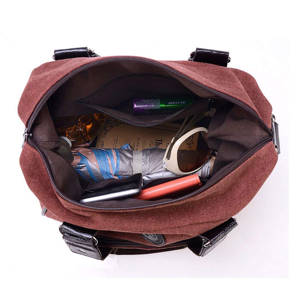 Wasserdichte Segeltuch-Handtaschen-Art- und Weiseeinzelne Schulter-Umhängetasche-Taschen-Taschen-Mehrfarben Schulter-Umhängetasche-Taschen-Taschen-Mehrfarben Schulter-Umhängetasche-Taschen-Taschen-Mehrfarben der Frauen wahlweise freigestellt (Farbe   Retro rot) B07G5CWZCR Umhngetaschen Weiche Berührung 767ca0