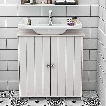 Incredible Dlandhome Bathroom Floor Storage Cabinet Under Sink Basin Interior Design Ideas Skatsoteloinfo